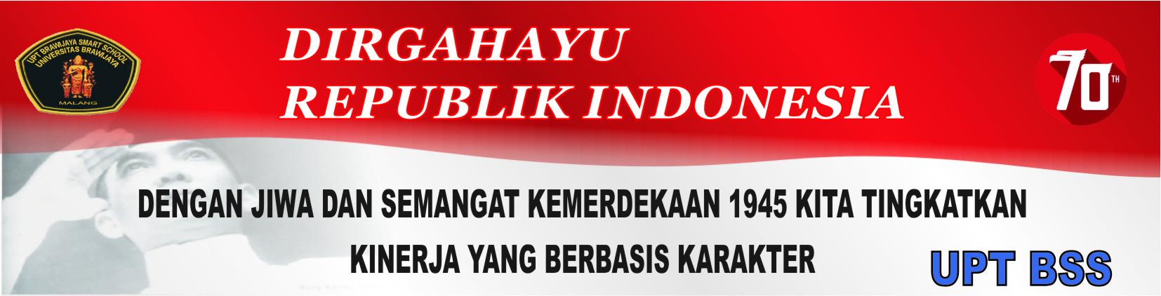 DIRGAHAYU INDONESIA 70