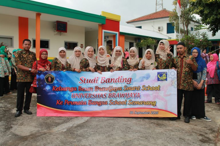 Studi Banding di Permata Bangsa School