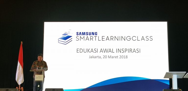BRAWIJAYA SMART SCHOOL PUNYA SAMSUNG LEARNING CLASS