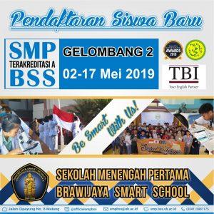 SMP BSS UB Membuka Pendaftaran Siswa Baru