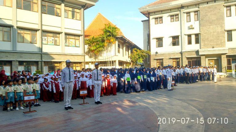 Kegiatan Masa Pengenalan Lingkungan Sekolah BSS UB 2019/2020
