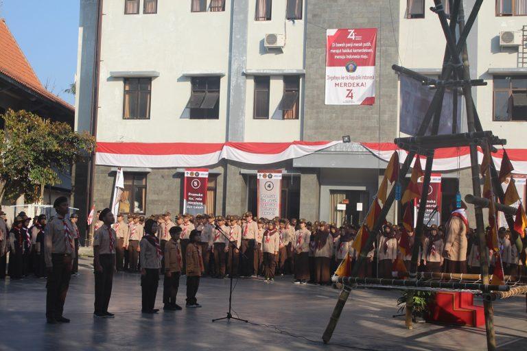 Upacara Bendera Memperingati Hari Pramuka 2019