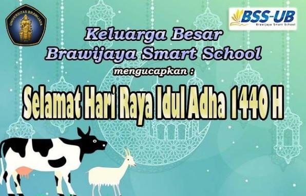 BSS UB Mengucapkan Selamat Hari Raya Idul Adha 1440 H