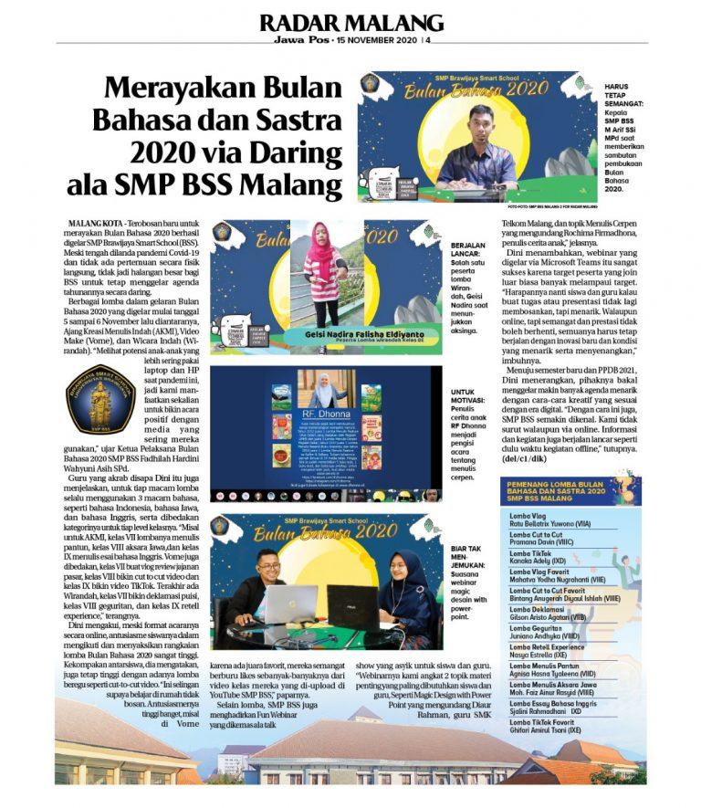 Bulan Bahasa SMP BSS 2020