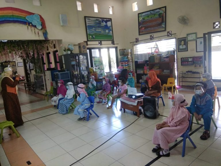 Children Centre BSS Siap Gelar Sekolah Luring
